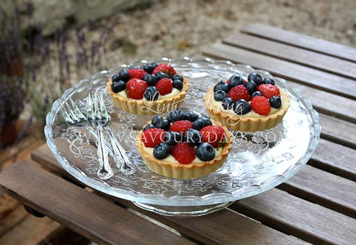 Berries tart - For a very fresh Summer day