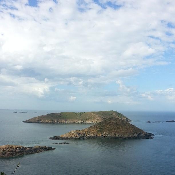 La vue est sublime à la pointe de bilfot #paimpol #vacances #bretagne #france #blog #blogueuse #ourlittlefamily