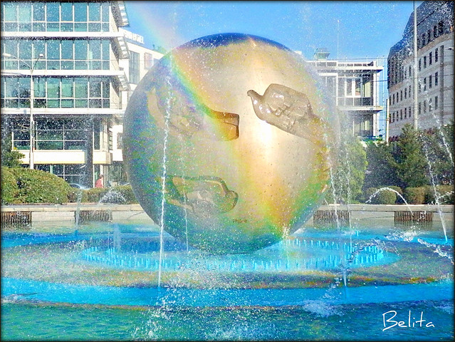 FOUNTAIN 'EARTH-PLANET OF PEACE'