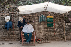 El papa y el peluquero