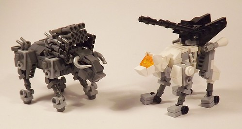 Dibison and Command Wolf