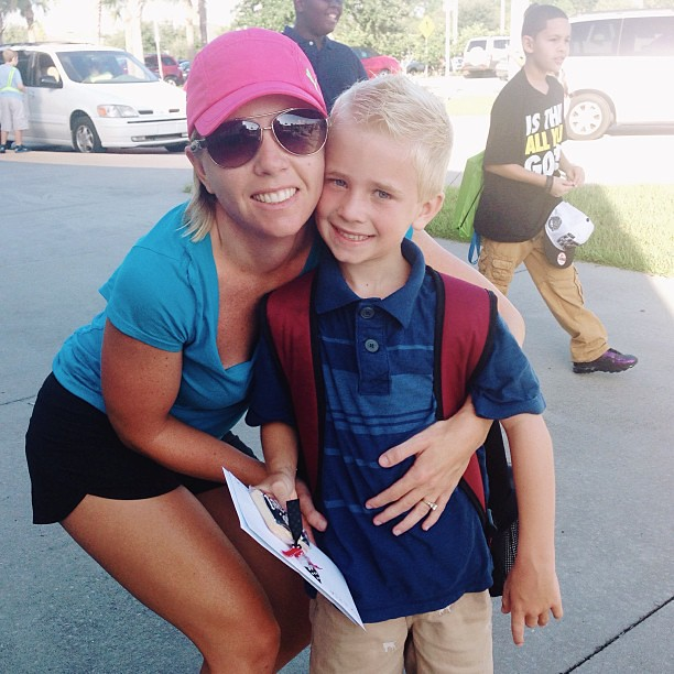 Love him so! #firstday #firstgrade