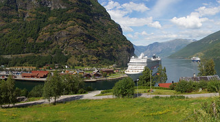 Port for Cruiseships in Flåm