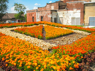 """Coppes Commons, Nappanee, IN  """"Carpenter's Square"""""""