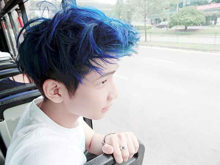 typicalben blue hair 4