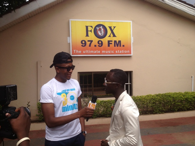 Okyeame Kwame once worked as a radio presenter at Foxfm