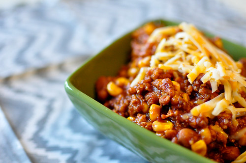 Turkey and Corn Chili