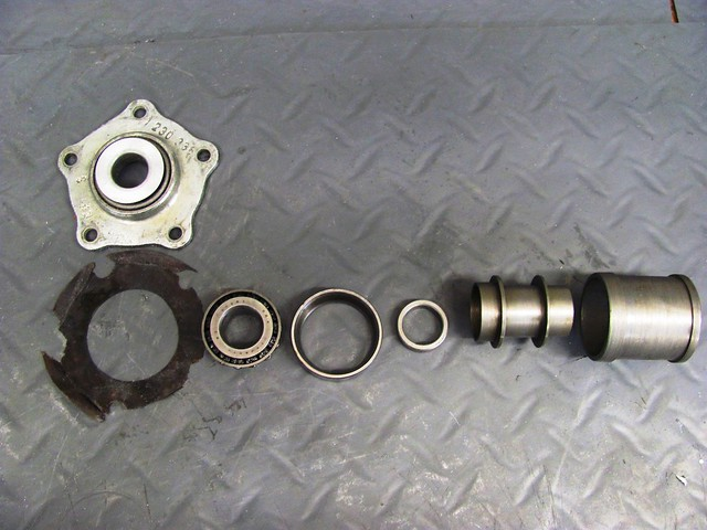 Bearing Stack, Outside (Left) to Inside (Right)