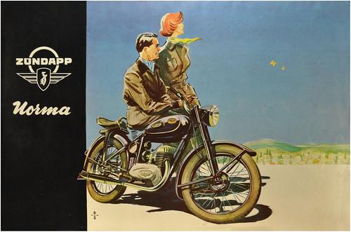 1953 Zundapp by bullittmcqueen