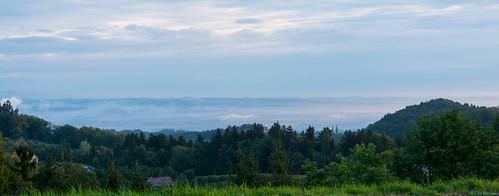 fog sunrise österreich nikon nebel vineyards nikkor sonnenaufgang vr afs steiermark eckberg weinberge 1685 gamlitz d7100 leibnitzerfeld