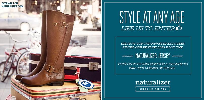 Naturalizer Blogger Challenge Image