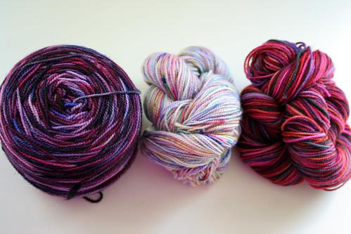 tubularity yarn - first 3 skeins