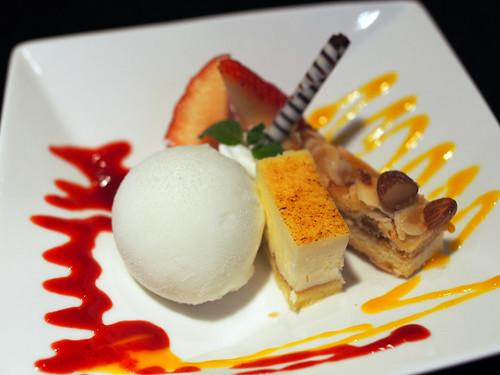 デザート | A chef's capricious dessert