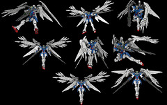 Lego Wing Gundam Zero EW (Custom): Twin Buster Rifle Compilation