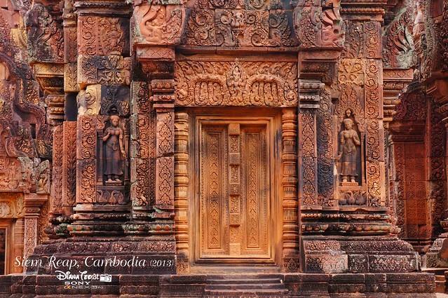 Siem Reap, Cambodia Day 5 - Banteay Srey 03