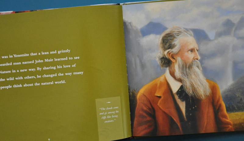 John Muir picture book biographies @ Mt. Hope Chronicles