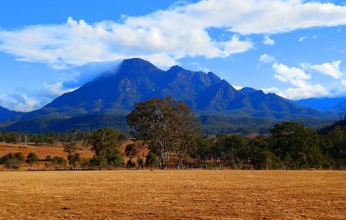 Mt Barney Profile, Scenic Rim
