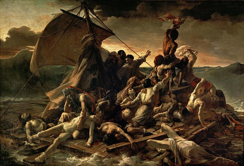 """The Raft of the Medusa"", by Théodore Géricault"