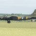 B17G 'Sally b' with tail up on take off run
