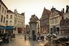 End of Day In Bruges