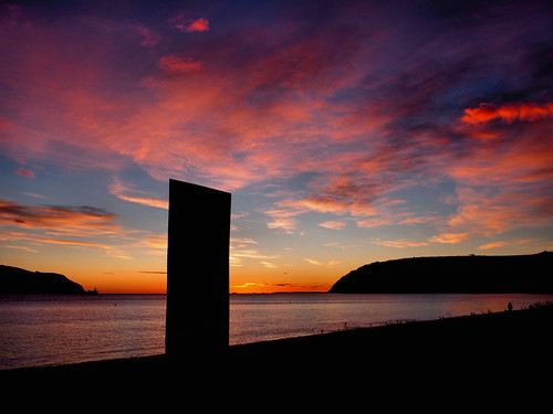 cromarty sutor sunrise emigration stone