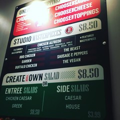 Prices are now $8.50 instead of $7.99  still good pizza