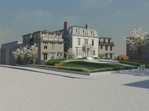 Collins Mansion Condominiums Renderings