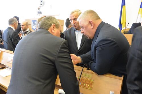 Анатолій Грисюк, Микола Кучерук та Віталій Чугунніков