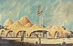 Pavilion of the Hashemite Kingdsom of Jordan - The Holy Land - New York World's Fair 1964-65