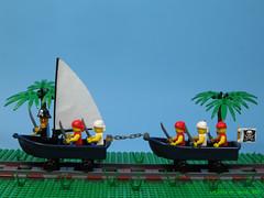 Rail Pirate Boats