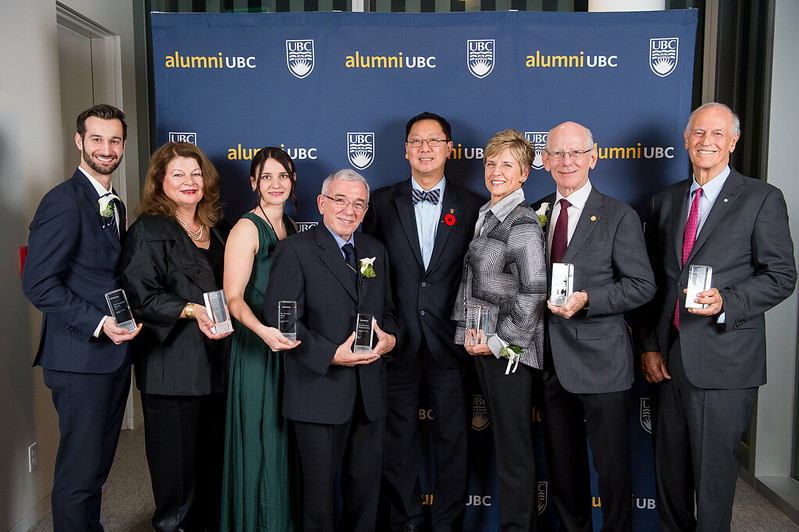 2016 alumni UBC Achievement Awards