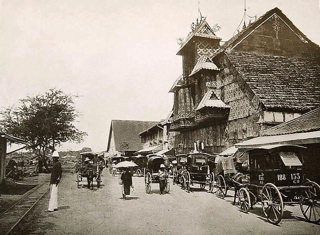 Le Théâtre Annamite - Rạp hát của người Việt trên Bến Chương Dương (tại vị trí Chùa bà Thiên Hậu)