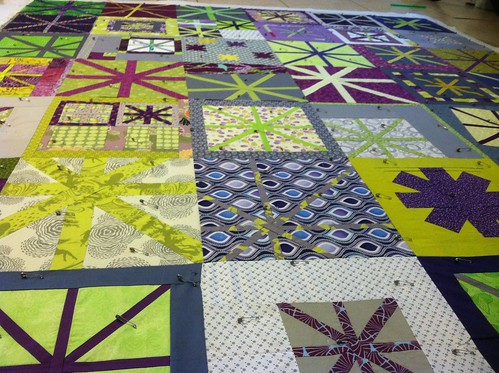 Basted and ready to quilt