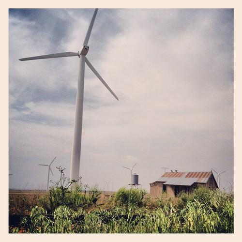 west landscape energy texas wind farm windmills