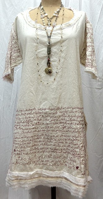 red thread poetry dress