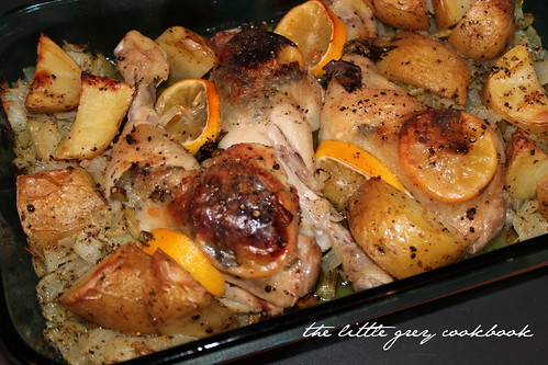 Baked Lemon & Lovage Chicken