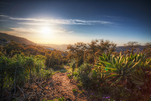 ocean california sunset canon landscape pacific 5d hdr highdynamicrange escondido tonemapped