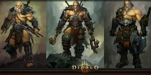 Diablo 3 Character Class Video: The Barbarian