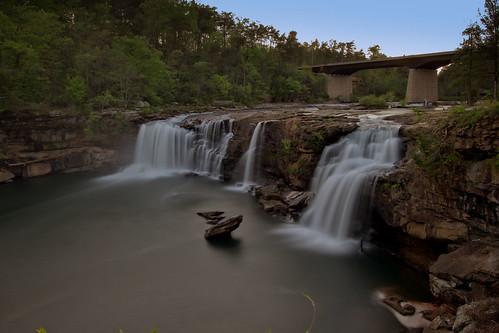 waterfall alabama littleriverfalls