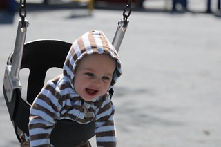 Gavin on the Swing