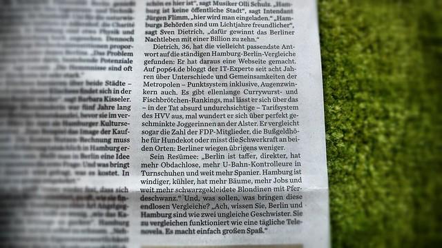 Der Dietrich im Abendblatt