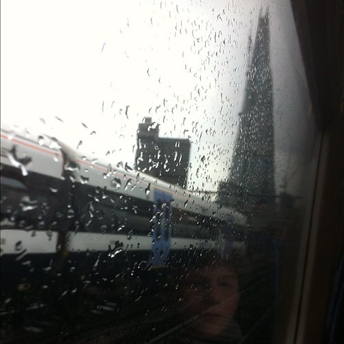 Thing 1, rain and The Shard. #nofilter by MAStapleton