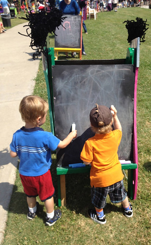 ArtStop - collaborative chalk art