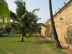 Back view of Darasuram Airavateswarar Temple