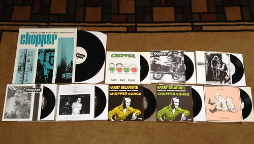 "Collection - Chopper - LP & 7""s by Tim PopKid"