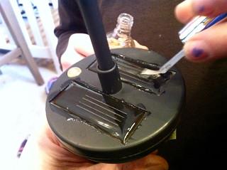 Using nail polish to rejuvinate solar cells