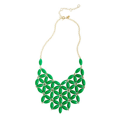 Green Tessellate necklace