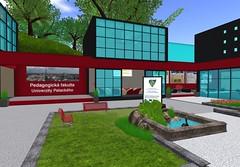Pedagogická fakulta UP v Second Life