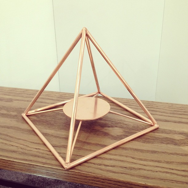 Iacoli & Mcallister's copper pyramid | Jean L | Flickr