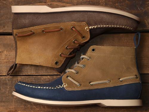 Ralph Lauren / Basildon Leather Boat Shoe
